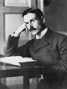 Thomas Mann, 1914 (b/w photo)