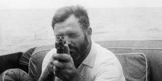 Hemingway the man.