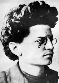 Trotsky as a youth